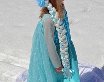 Elsa Hair Braid Wig, Frozen