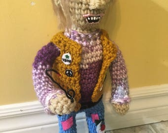 OOAK Crochet ChopTop Doll