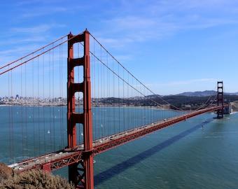 Golden Gate Bridge, San Francisco, landscape photography, travel, USA, California, wall art, print