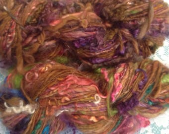 Bulky One Ply Varigated Art Yarn