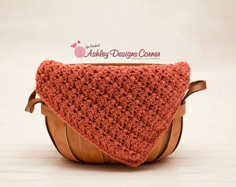 Crochet Pattern Crisscross Cluster Blanket (Newborn - Adult) - PDF - Instant Digital Download