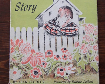 Vintage Children's Book The Green Thumb Story