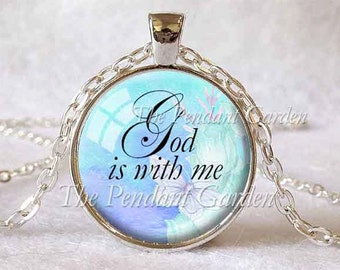 CANCER PATIENT GIFT Encouragement Gift Strength Courage Hope Gift for Patient Gift Wellness Healing Faith Surgery Gift God Is With Me