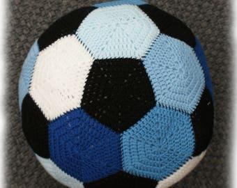 Crochet soccer ball etsy football soccer ball stuffed toy crochet pattern dt1010fo