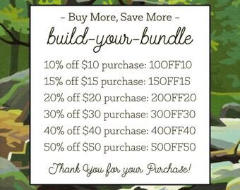 Build-Your-Bundle COUPON Codes