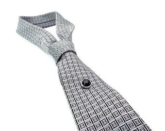 Black Onyx Tie Tac, Black Tie Tac,  Black Tie Pin