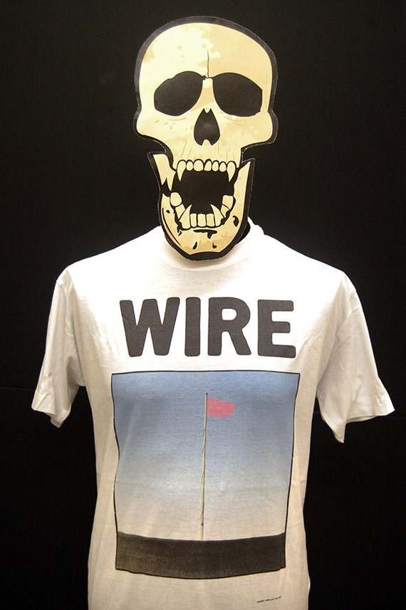 Wire Pink Flag T-Shirt