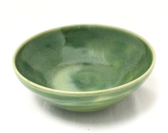 Small Light Green / Turquoise Ceramic Bowl, Snack Bowl, Prep Bowl, Decorative Bowl, Green Bowl, Turquoise Bowl, Ceramic Bowl