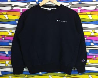 Rare!! Champion Sweatshirt Products Small Logo 160 size