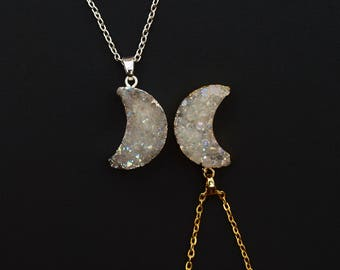 Sisters of the Moon Angel Aura Necklace