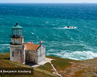 Point Conception Lighthouse Wall Art Print
