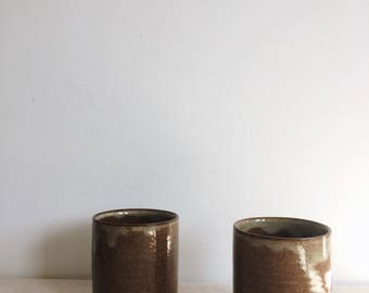 Whiskey Sippers - Set of 2 - MADE TO ORDER - Wheel Thrown - Handmade Pottery