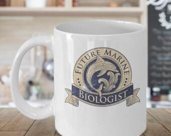 Marine Biologist Mug - Marine Biologist Gift - Marine Biology Coffee Mug - Marine Biology Coffee Cup - Future Marine Biologist