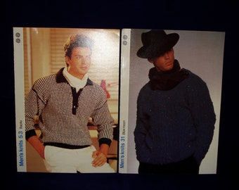 Mens vintage jumper patterns