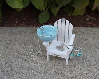 Miniature Adirondack Chair #3 Jewelry Organizer