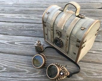 Steampunk Handbag with Accessories