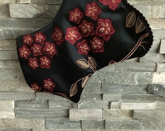 Floral Corset Christmas Stocking