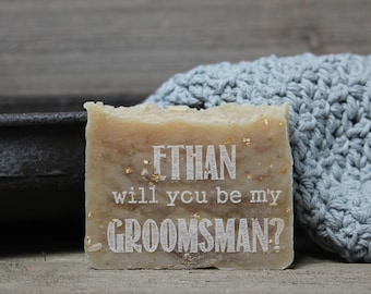 groomsman gift, ask gift,groomsman,wedding party gift, homemade soap,thank you gift,personalized