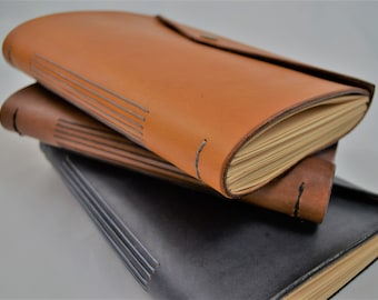 Leather Sketchbook, Leather Notebook, Leather Journal