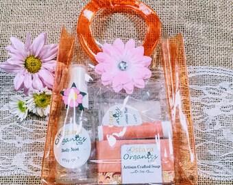 Jasmine Plumeria Spa Set, Jasmine Plumeria Gift Set, Jasmine Plumeria, Natural Spa Set, Organic Spa Set, Natural Spa Gift, Organic Spa Gift