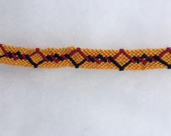 2-Color Twirl Bracelet
