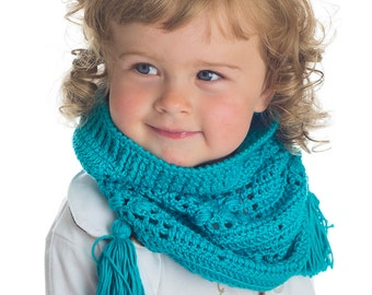 CROCHET PATTERN Dream Catcher Hat & Cowl for Kids and Adult PDF eBook