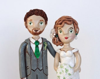 Custom Couple Personalized wedding cake topper