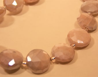 Sunstone Necklace and Earrings
