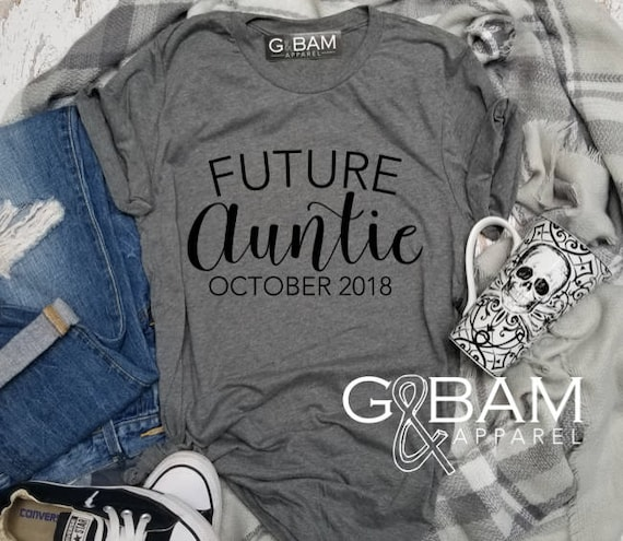 Aunt Shirt /Auntie tee/ You're a Aunt / new aunt gift / future auntie / we're Pregnant / Item: 148976