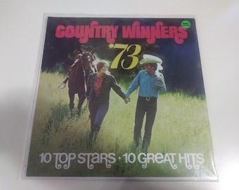 Country Winners '73 - Various Artists Brand New Sealed Original Press Columbia House IP 6067  Record 1973 - Old Store Stock