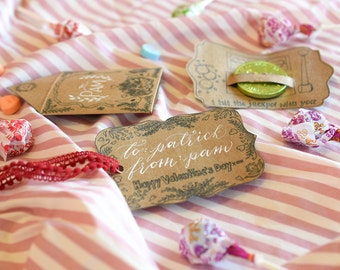 Valentine's Day Printables Package (Set of Ten Graphics)