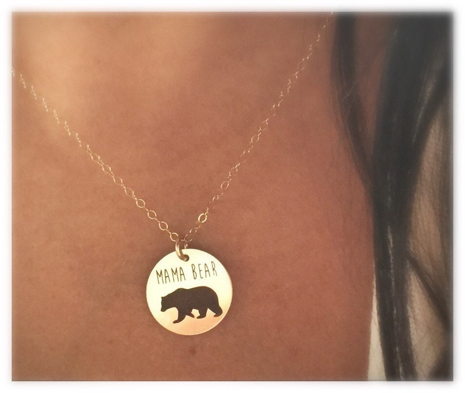 rose captured journey cubs necklace bear my image gold mama
