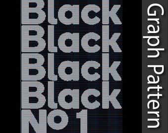 Type O Negative - Black No 1 - Graph Pattern