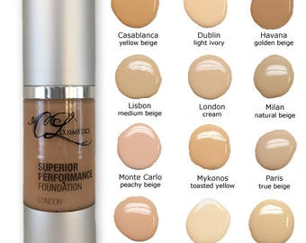 Liquid Foundation, Oil Free Foundation, Hypoallergenic Make up, Long Wearing Foundation, Natural Looking Make up