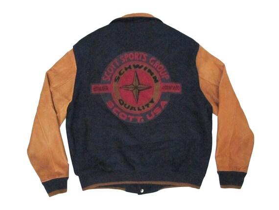 Schwinn Bikes Scott Sports Wool Letterman Jacket