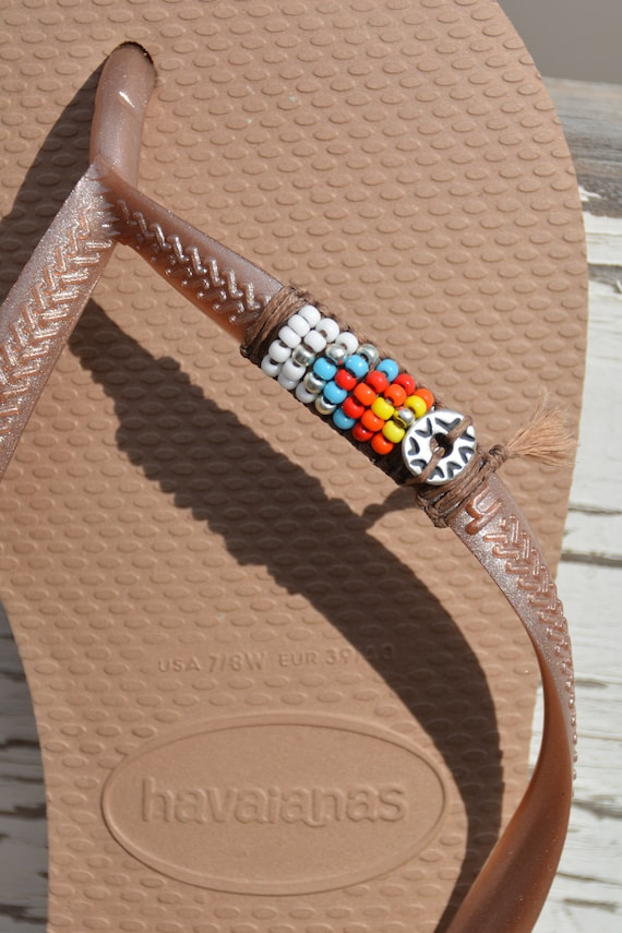 Shoes Sandals Native Flip American Decorated Havaianas Hippie Flip Vegan Flops Hippie Sandals Style Vegan Shoes Flops Beach Women's 7wEAZqvE
