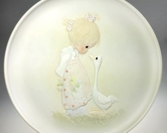 Precious Moments Make a Joyful Noise Enesco Collector Decorator Plate w COA