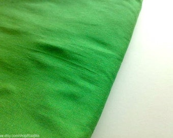 Pigment Green Indian Art Silk Fabric By Yard, Wholesale Indian Fabrics, Light Green Silk Fabric, Curtains Material, Jewelry Making Fabric
