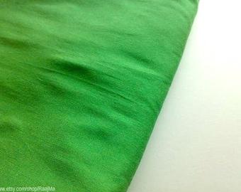 Fat Quarter Art Silk Fabric Pigment Green, Indian Art Silk Fabric, Wholesale Bulk Silk Dupioni Fabric, Light Green Fabric, Curtains Making
