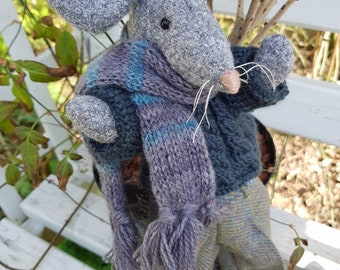 Rupert a Harris Tweed Mouse