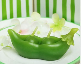 Two peas in a pod 3d silicone mould