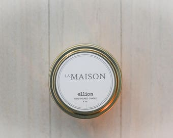 La Maison ellion travel candle - 6 oz.
