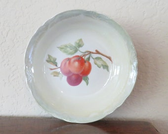 Vintage Thompson France berry bowl-free shipping USA