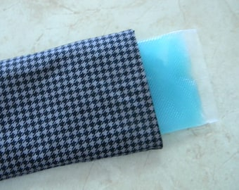 Flexible Ice gel Pack - headache helper with washable cover