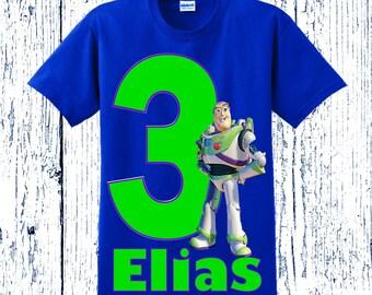 Buzz Lightyear Birthday Shirt