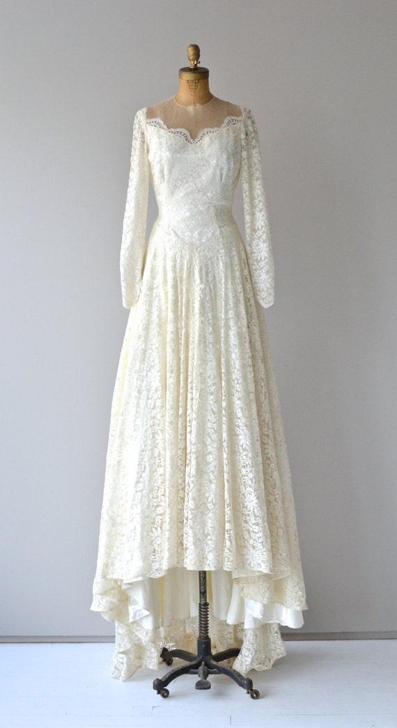 Lizanne Brautkleid Jahrgang 1950 Hochzeit Kleid weiße