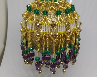 Mardigras Fringe ornament