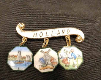 Holland Enamel Pin