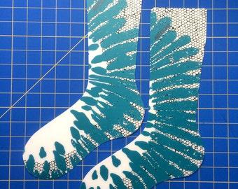 Turquoise Sock Blockers