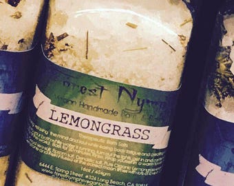 Forest Nymphs Lemongrass Therapeutic Bath Salts